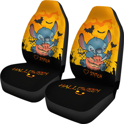 Stitch Halloween Car Seat Covers