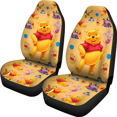 Pooh And Friends Car Seat Cover