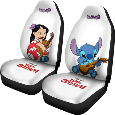 Lilo & Stitch Disney Car Seat Covers 3 - CreatedOn Disney