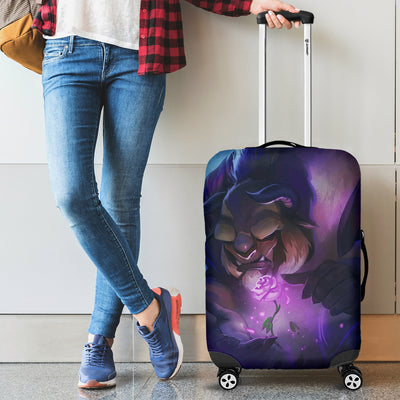 Beauty and The Beast Disney Luggage Cover 3 - CreatedOn Disney