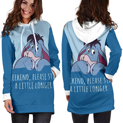 Eeyore - Winnie The Pooh Disney Hoodie Dress 11 - CreatedOn Disney