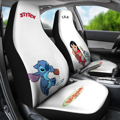 Lilo & Stitch Disney Car Seat Covers 2 - CreatedOn Disney