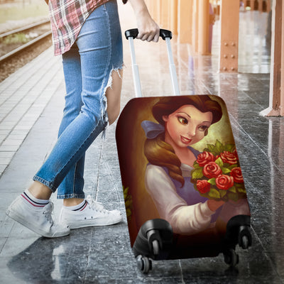 Beauty and The Beast Disney Luggage Cover 6 - CreatedOn Disney