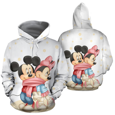 Mickey and Minnie Hoodie 7