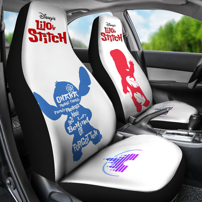 Lilo & Stitch Disney Car Seat Covers 4