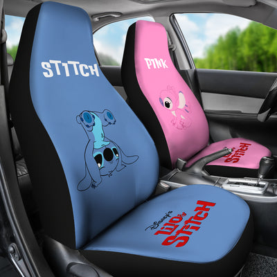 Stitch & Angel Car Seat Covers 9
