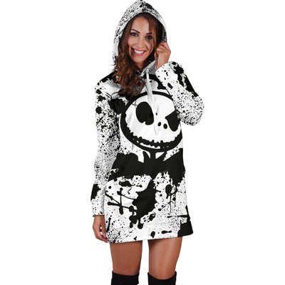 83d8eae503b Jack Skellington Hoodie Dress 6 - CreatedOn Disney