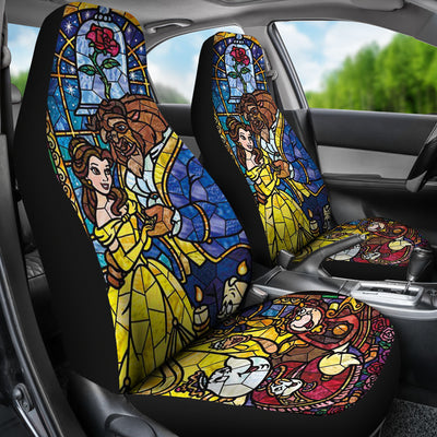 BEAUTY AND THE BEAST CAR SEAT COVERS - CreatedOn Disney