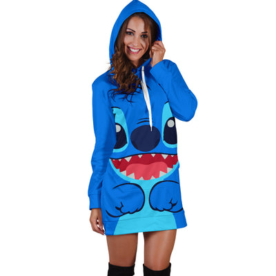 Stitch Disney Hoodie Dress 9