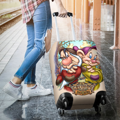 Grumpy & Dopey Disney Luggage Cover 3
