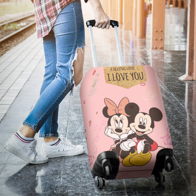 Mickey and Minnie Disney Luggage Cover 9