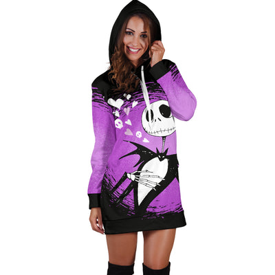 Jack Skellington Disney Hoodie Dress 2 - CreatedOn Disney