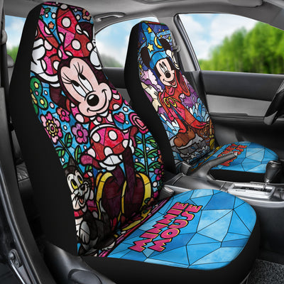 Mickey and Minnie Car Seat Covers 1