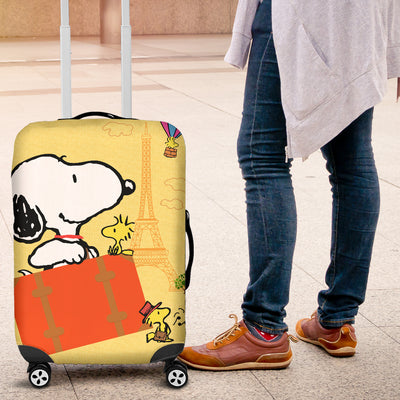 Snoopy Luggage Cover 4