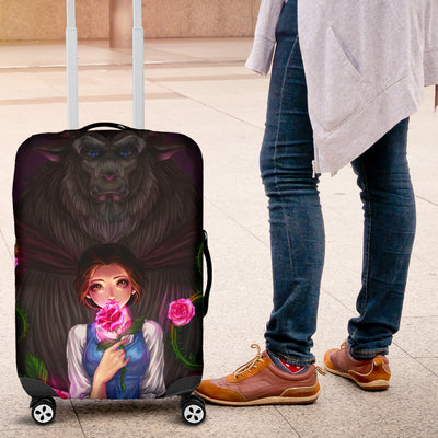 Beauty and The Beast Disney Luggage Cover 1