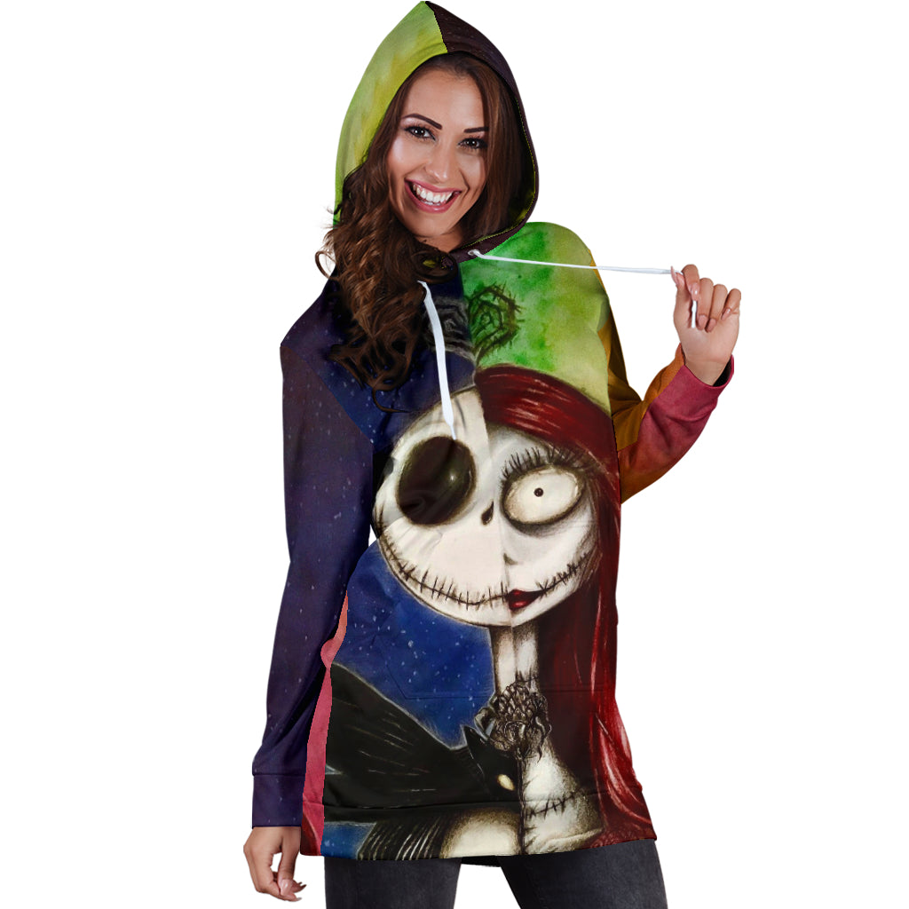 0d9b1c5d74d Jack Skellington Disney Hoodie Dress 3 - CreatedOn Disney