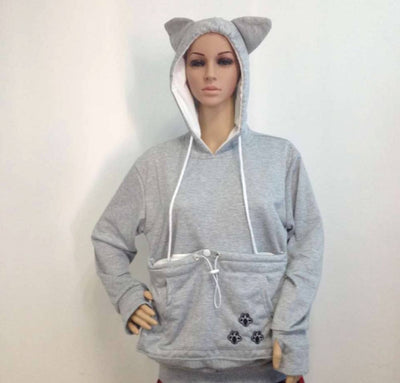 DOG LOVER HOODIE WITH EARS AND SPECIAL DOG POUCH - CreatedOn Disney