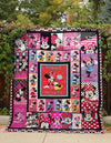 JUST MINNIE FABRIC QUILT - CreatedOn Disney