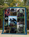 TOOTHLESS FABRIC QUILT