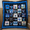50 SHADES OF STITCH FABRIC QUILT - CreatedOn Disney