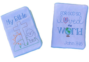 Bible/Bible Cover (Rising Sun & John 3:16)