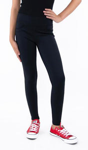 Tractr Girls High-Rise Pull On Performance Legging