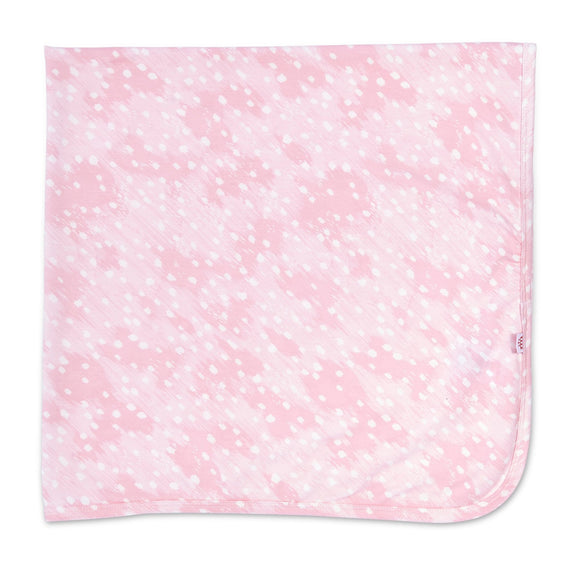 Pink Doeskin Swaddle Blanket
