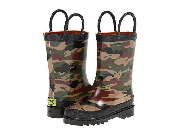 Limited Edition Camo Printed Rain Boots