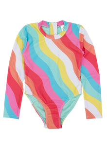 Wave Chaser Surf Suit- Tropical