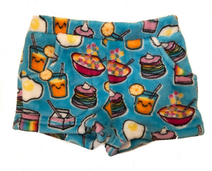 Rainbow Breakfast PJ Shorts