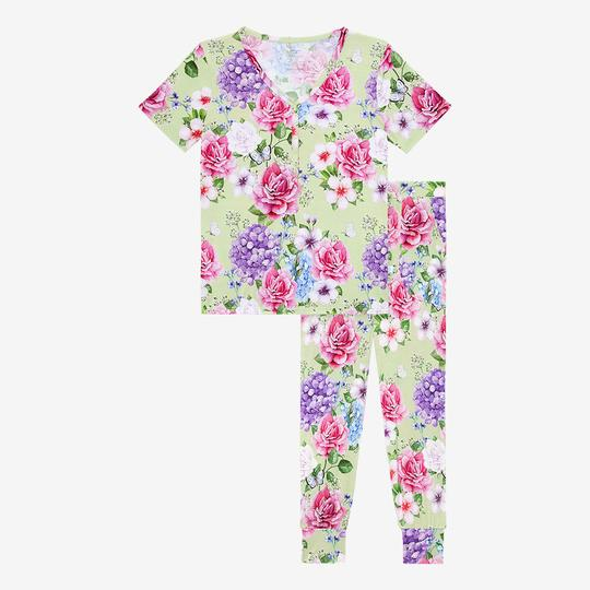 Georgina Women's Short Sleeve Pajama Set