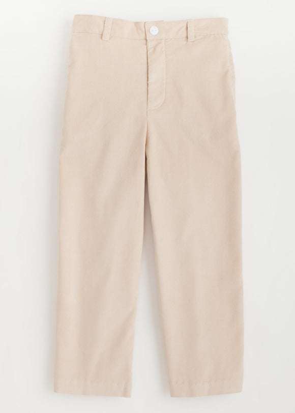 Tan Corduroy Pull on Pant