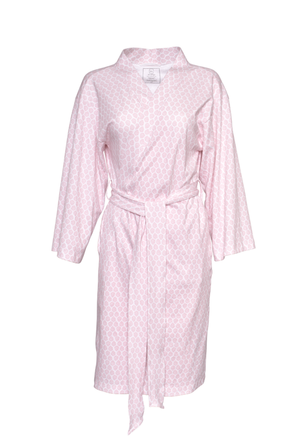Pretty Pink Palms Sassy Bathrobe for Women