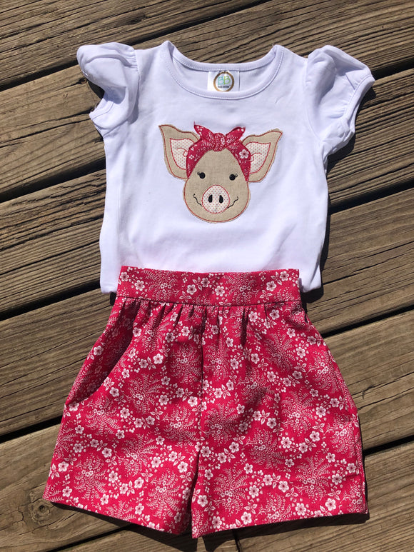 Girls Retro Razorback Outfit