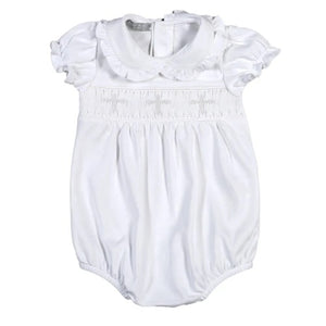 Smocked Ruffle Cross Bubble