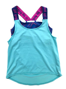 Girls 2-In-1 Tank