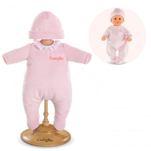 "Pink Pajamas for 12"" Corolle Doll"