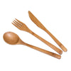 Bamboo Flatware Set (Set Of 3)  (#20-2006) - Sample