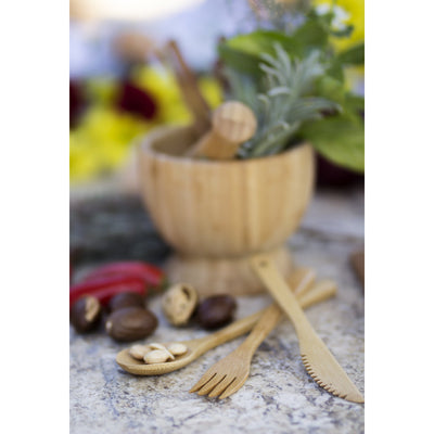 Bamboo Flatware Set (Set Of 3)
