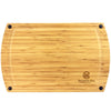 "GreenLite™ Dishwasher Safe 19"" Bamboo Cutting Board, ""Splash"" Series"