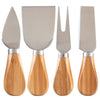 4-Pc Cheese Tool Set (#20-2412) - Sample