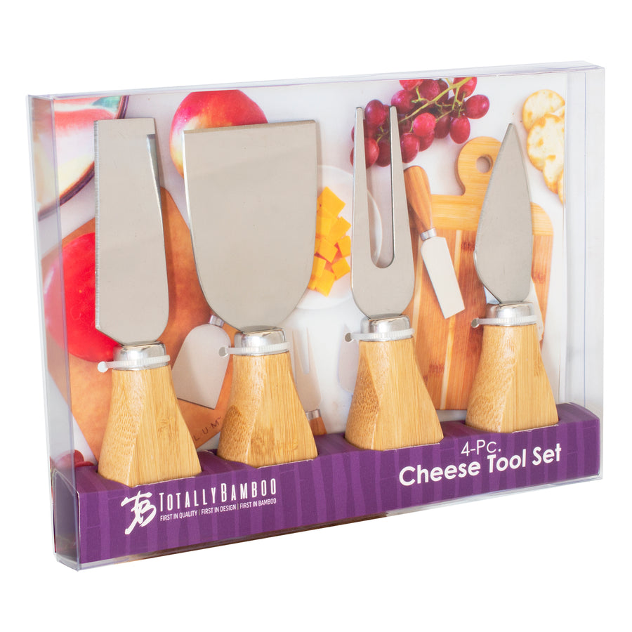 4-Pc Cheese Knife Tool Set (#20-2412)