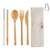 Bamboo Take-Along Utensil Roll (#20-2426)