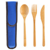 Bamboo Flatware Set - Blue (#20-2430)