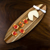 Surfboard Shiplap Serving & Cutting Board (#20-2603)