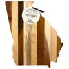 Georgia State Shiplap Serving & Cutting Board  (#20-2607)