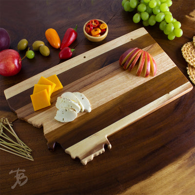 Montana State Shiplap Serving & Cutting Board  (#20-2608)