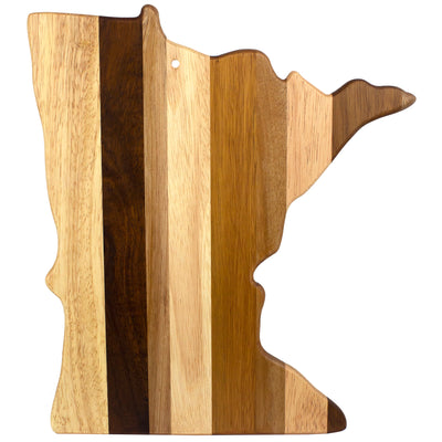 Minnesota State Shiplap Serving & Cutting Board  (#20-2612)