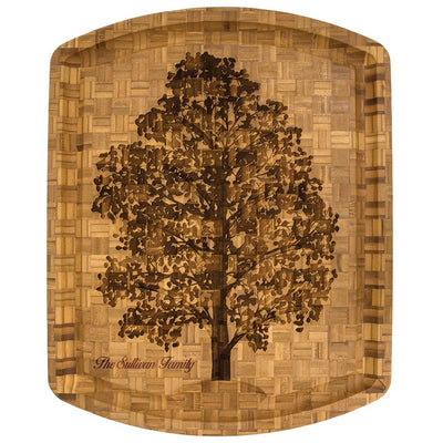 Family Tree Carving Board  (#20-3003)
