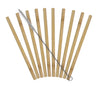 Reuseable Bamboo Drinking Straws - (#20-6722)